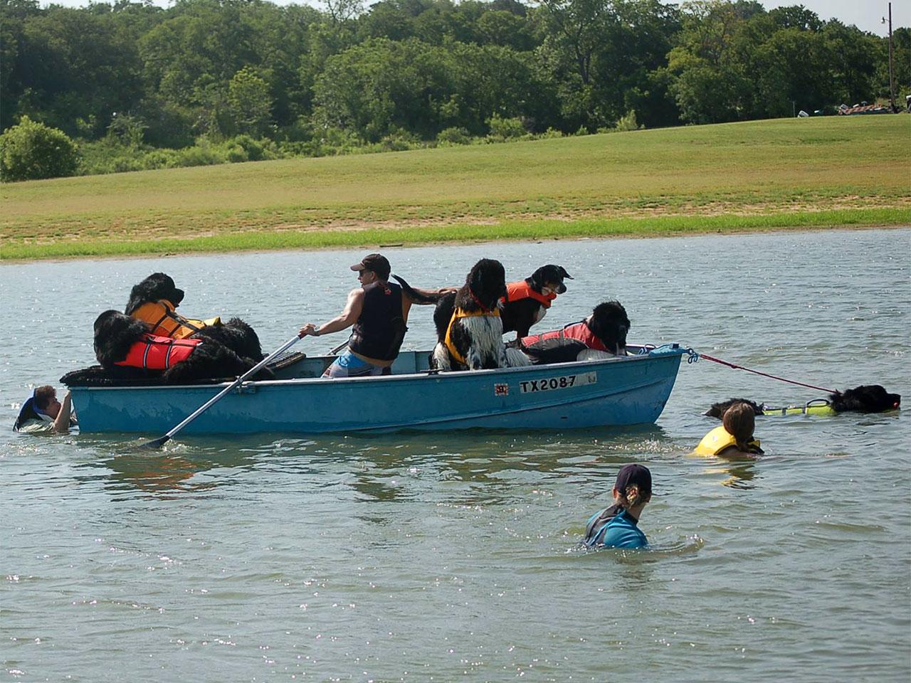 Water seminar - boat pull